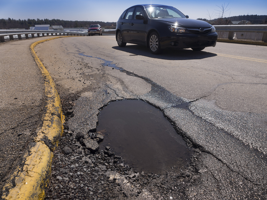 Legal Options After A Car Accident Caused by Poor Road Maintenance