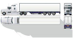 large semi truck