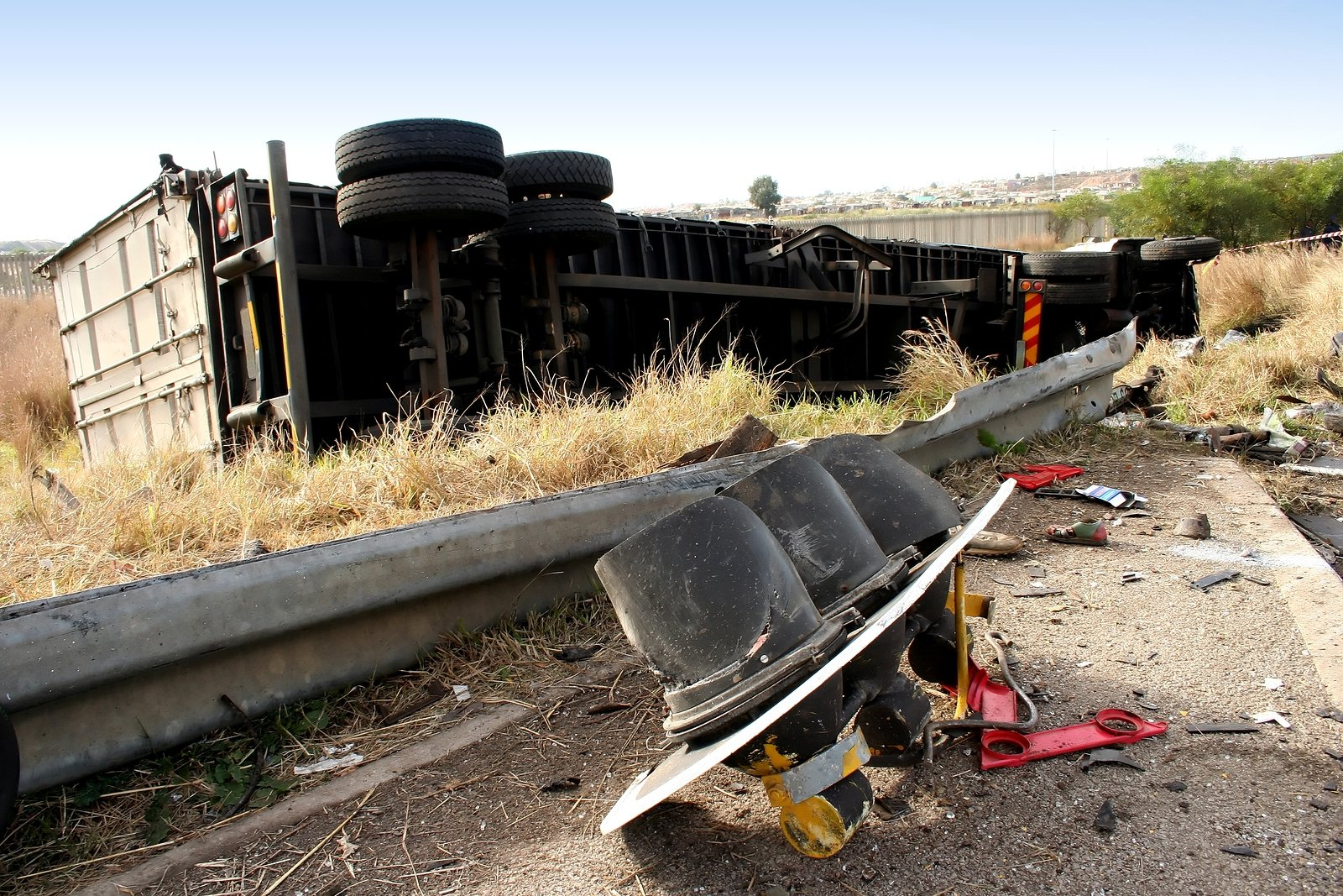 Truck Crashes Can Be Toxic