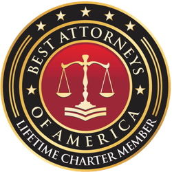 Best attorneys of America badge