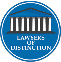 Lawyers of distinction badge