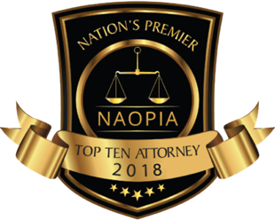 Nation's premier top ten attorney award 2018