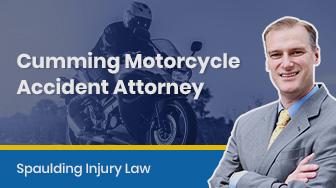 Atlanta Motorcycle Accident Attorney – Spaulding Injury Law