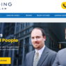 Front page of new personal injury site for Spaulding Injury Law