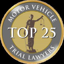 Spaulding Injury Law is a Top 25 Motor Vehicle Trial Lawyer